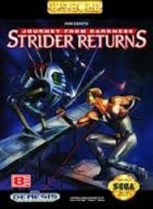 Strider Returns Journey From Darkness - Genesis Game