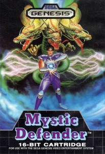 Mystic Defender - Genesis GameMystic Defender - Genesis Game