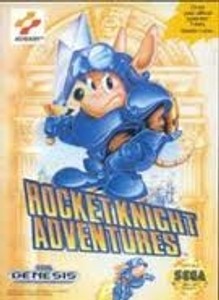Rocket Knight Adventures - Genesis Game