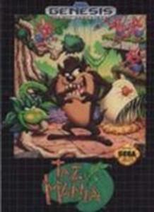 Taz-Mania - Genesis Game
