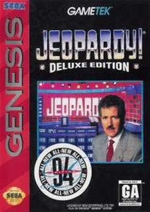 Jeopardy! Deluxe - Genesis Game