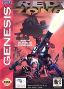 Red Zone - Genesis Game