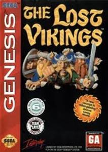 Lost Vikings, The - Genesis Game