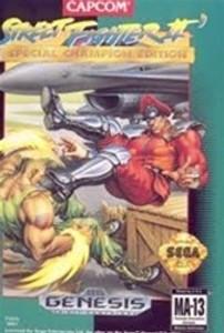 Street Fighter II Sp Champion Edition - Genesis Game