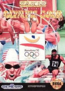 Olympic Gold - Genesis Game