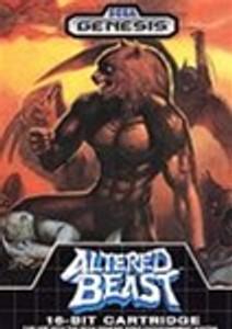 Altered Beast - Genesis Game