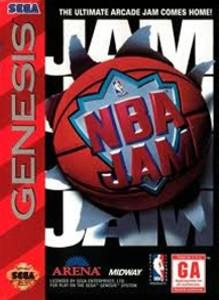 NBA Jam - Genesis Game