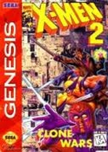 X-Men 2 Clone Wars - Genesis Game