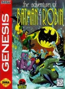 Adventures of Batman & Robin - Genesis Game