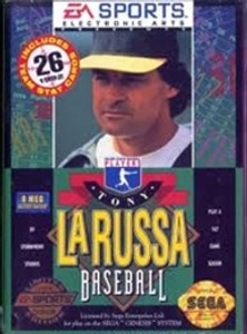 Tony La Russa Baseball - Genesis Game