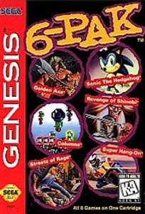 Genesis 6-PAK - Genesis Game