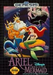 Ariel Disney's The Little Mermaid - Genesis Game