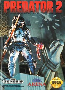Predator 2 (II) - Genesis Game