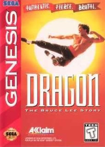 Dragon The Bruce Lee Story - Genesis Game