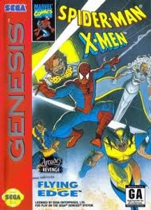 Spider-Man X-Men Arcade's REVENGE - Genesis Game