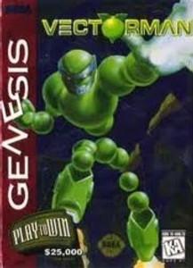 Vectorman - Genesis Game
