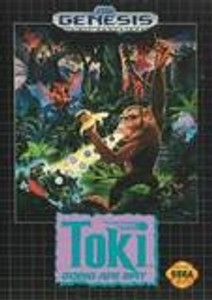 Toki Going Ape Spit - Genesis Game