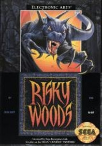 Risky Woods - Genesis Game