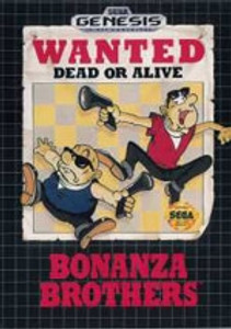 Bonanza Brothers - Genesis Game