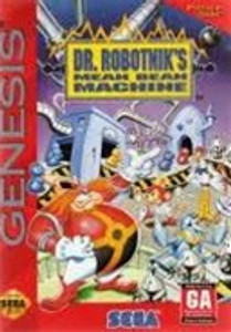 DR. Robotnik's Mean Bean Machine - Genesis Game