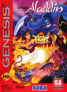 Aladdin, Disney's - Genesis Game