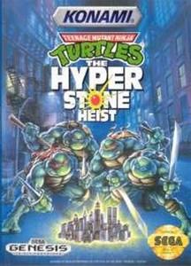 Teenage Mutant Ninja Turtles Hyperstone Heist - Genesis Game