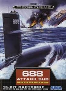 688 Attack Sub - Genesis Game