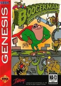 Boogerman - Genesis Game