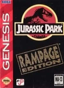 Jurassic Park Rampage ED. - Genesis Game