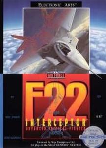 F22 Interceptor - Genesis Game