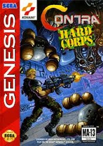 Contra Hard Corps - Genesis Game