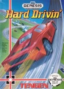 Hard Drivin' - Genesis Game