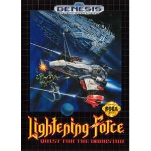 Lightening Force - Genesis Game