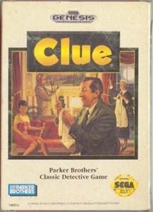 Clue - Genesis Game