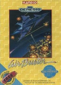 Air Buster - Genesis Game