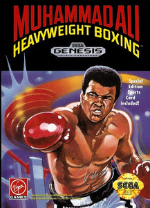 Muhammad Ali Heavyweight Boxing - Genesis Game.