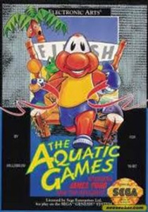 Aquatic Games Staring James Pond - Genesis Game