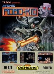 Atomic Robo-Kid - Genesis Game