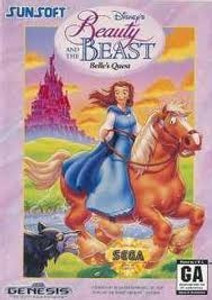 Belle's Quest, Disney's Beauty And The Beast - Genesis Game