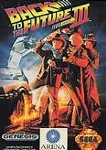 Back To The Future Part III (3) - Genesis Game