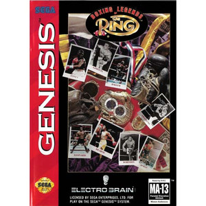 Boxing Legends Of The Ring - Genesis Game