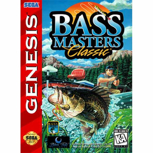 Bass Masters Classic - Genesis Game