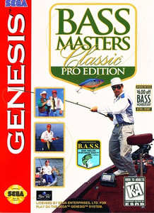 Bass Masters Classic Pro Edition - Genesis Game