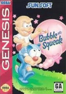 Bubble And Squeak - Genesis Game