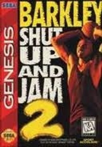 Barkley Shut Up and Jam 2 - Genesis Game