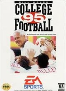 Bill Walsh College Football 95 - Genesis Game