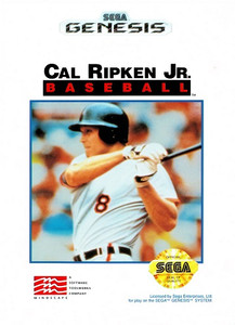 Cal Ripken Jr. Baseball - Genesis Game