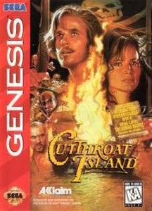 Cutthroat Island - Genesis Game