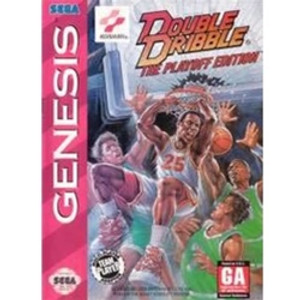 Double Dribble The Playoff Edition - Genesis Game
