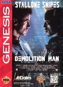 Demolition Man - Genesis Game